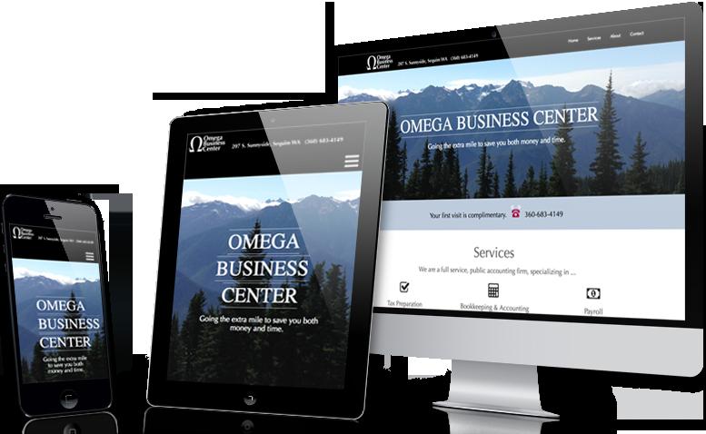 Screenprint of OmegaTax.com