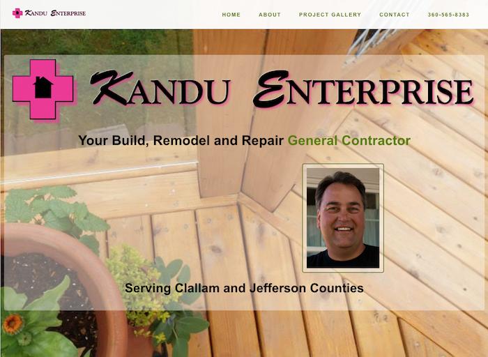 KanduEnterprise.com screenshot