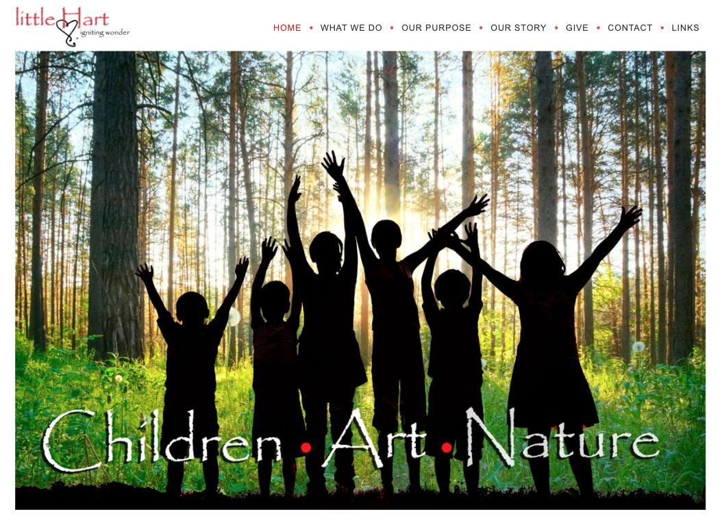 LittleHart.org homepage